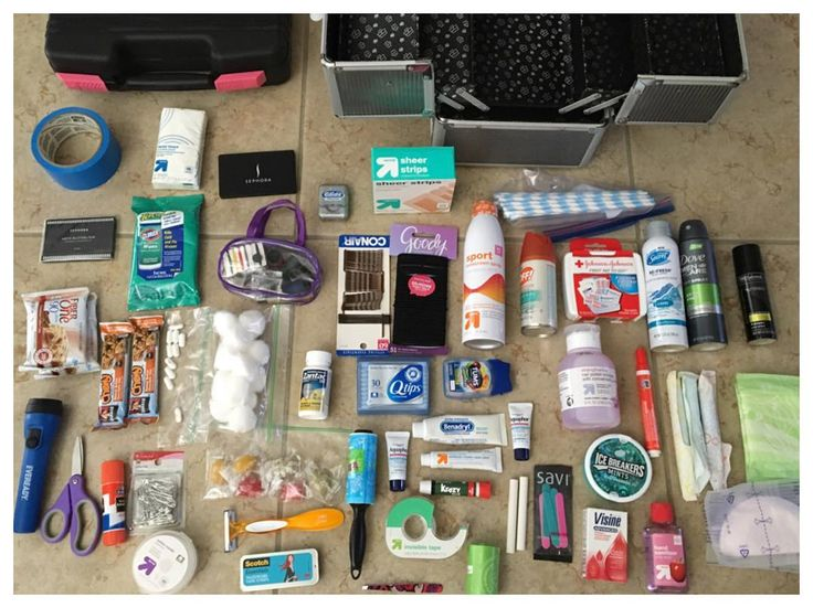 A wedding planner is always prepared for anything! Wedding Emergency Kit  If you don't have a wedding coordinator, things you should have your Maid of Honor pack just in case. Emergency kit provided by Anderson Event Planning.