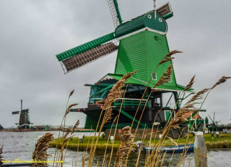 A #windmill at #ZaanseSchans #netherlands