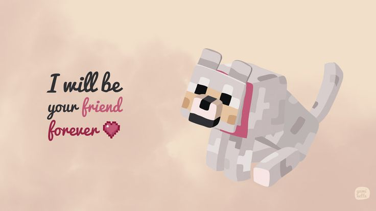 Minecraft wolf by ~Yuminette on Society6