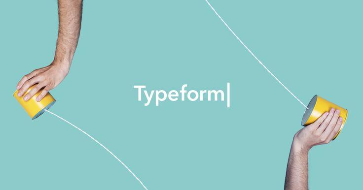 Créé avec Typeform, l'outil d'enquête en ligne gratuit qui permet de créer de superbes formulaires et enquêtes. Inscrivez-vous maintenant et essayez-le !