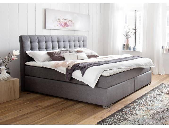 Meise Mobel Boxspringbetten Grau Boxspringbetten Grau Meisemobel Pflegeleichter In 2020 Eclectic Bedroom Master Bedroom Furniture Bed