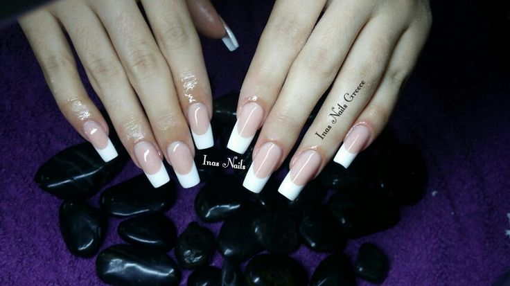 #french #longnails #acrylicnails
