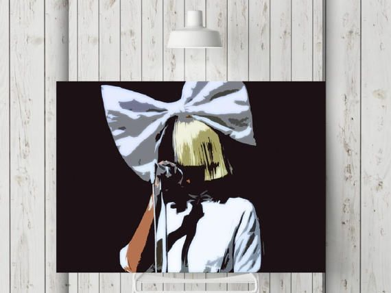 Sia Print or Canvas Sia Kate Isobelle Furler Poster Cheap