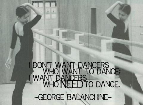 George Balanchine. Que tipo de bailarin eres?