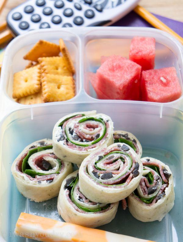 Easy Kid Snacks For School