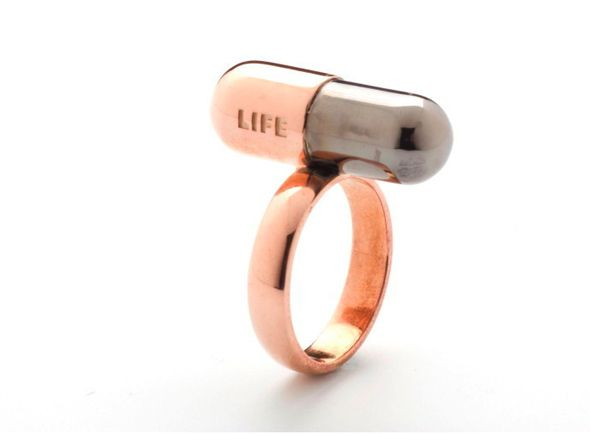 Life Therapy di Ida Callegaro. I need this. I'd love a pendant necklace of this design