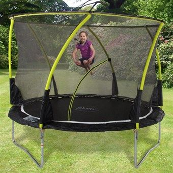 The Plum Whirlwind trampoline utilise Plum's innovative 'Tramp Klamp' system which provides vital support to the trampoline structure.