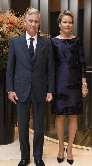 Koning Philip en Koningin Mathilde