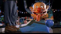 """You're gonna die, clown!"" - Happy Gilmore (Adam Sandler)"