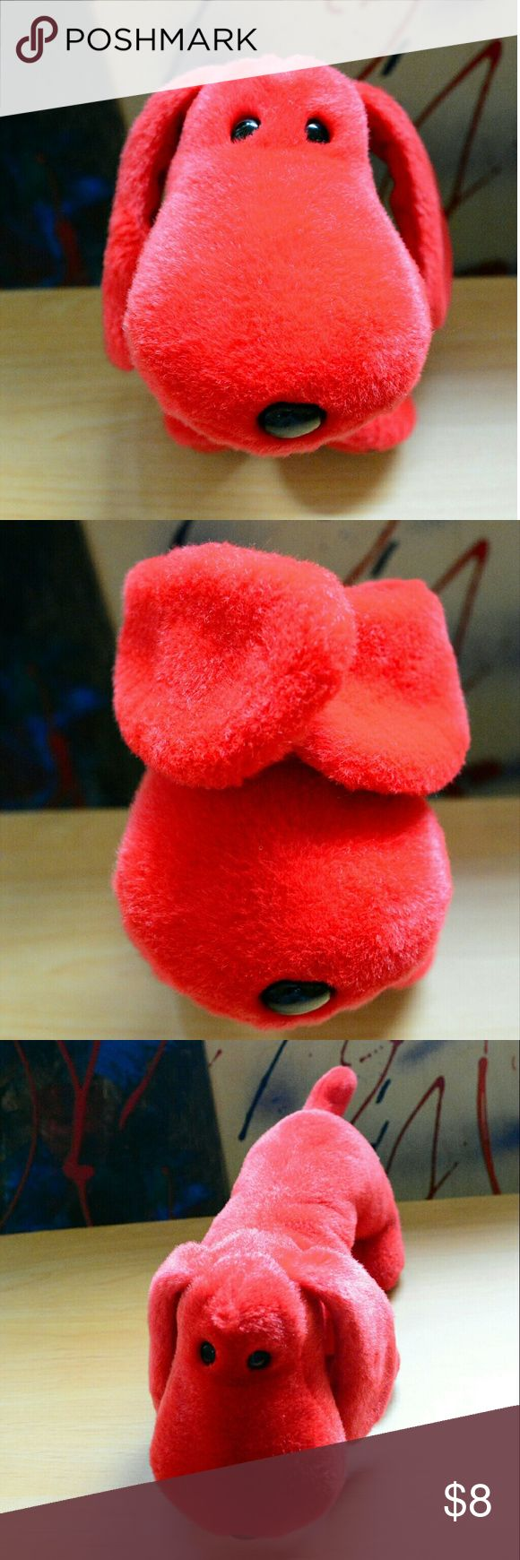 Rover The Red Dog / TY Beanie Buddies Collection Rover The Red Dog / TY Beanie Buddies Collection '98  Length: 14 in  Width: 3.5 in  Height: 5.5 in TY Beanie Buddies Accessories