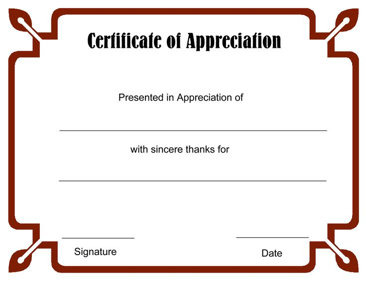 The 25+ best Blank certificate ideas on Pinterest Blank - attendance certificate template