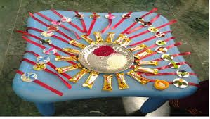 Send the rakhi to the army .