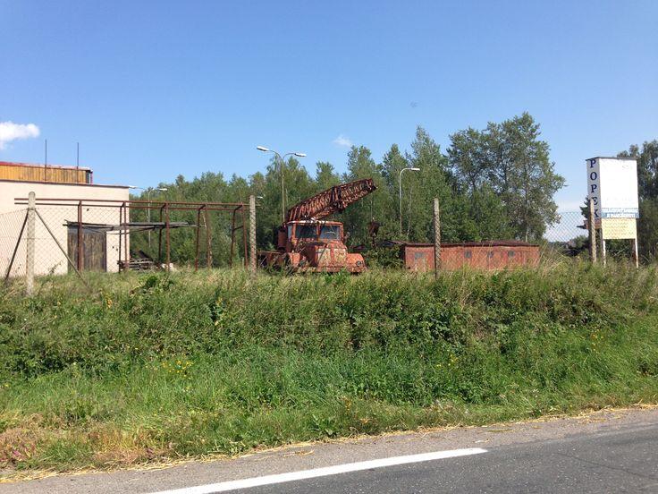 Tatra 111 Crane