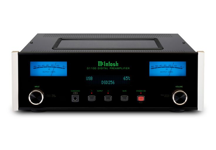 The D1100 digital preamplifier is a reference level stereo preamplifier and digital-to-analog converter (DAC). It features the most advanced DAC we've ever used and delivers an unprecedented level of performance so that all your digital music is reproduced with exceptional accuracy and authenticity.