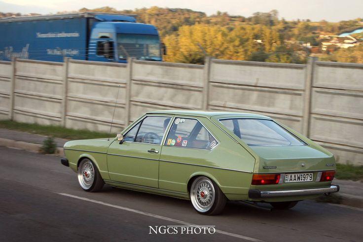 VW Oldskool. 1976 Volkswagen Passat .  ____________________ Photo: NGcs Photo