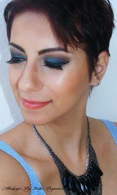 Makeup by Iulia Bajenaru: Blue Brown