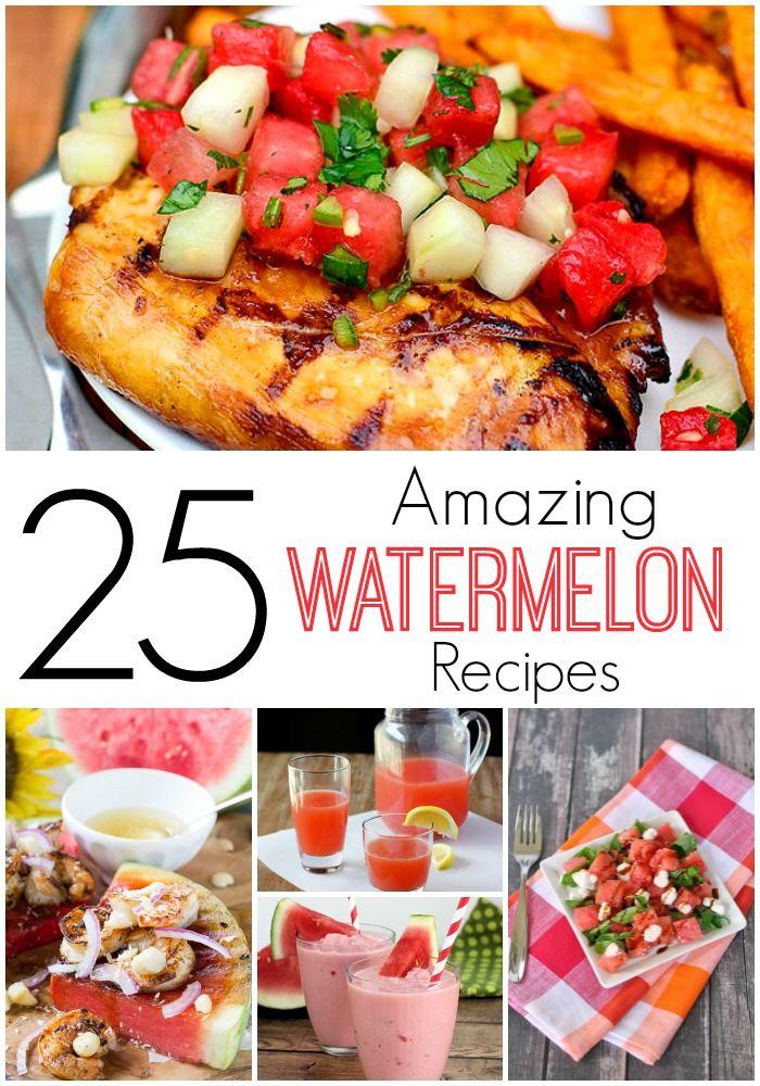 25 Amazing Watermelon Recipes