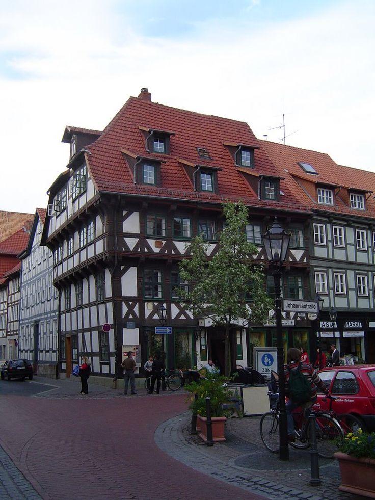 Göttingen : House in the Johannisstrasse