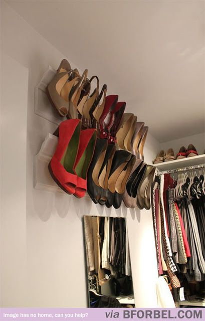 Tips & Tricks: Shoe Storage in Wardrobe