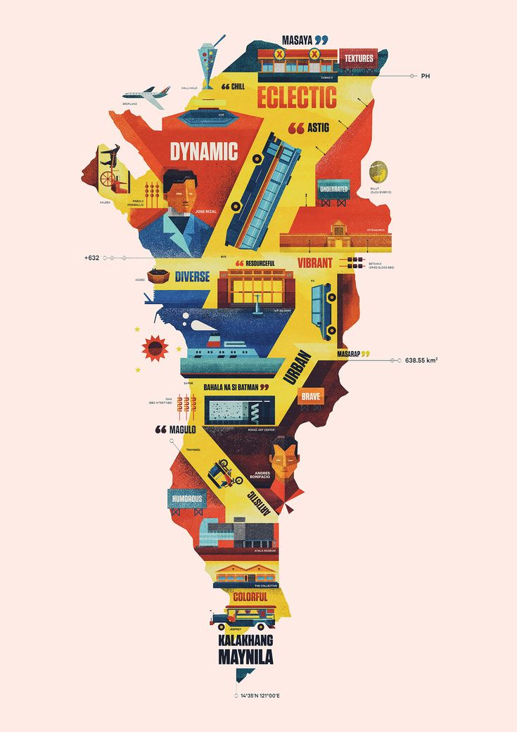 Map Of Us States Bordering Mexico%0A Creative Cities  Manila by Dan Matutina