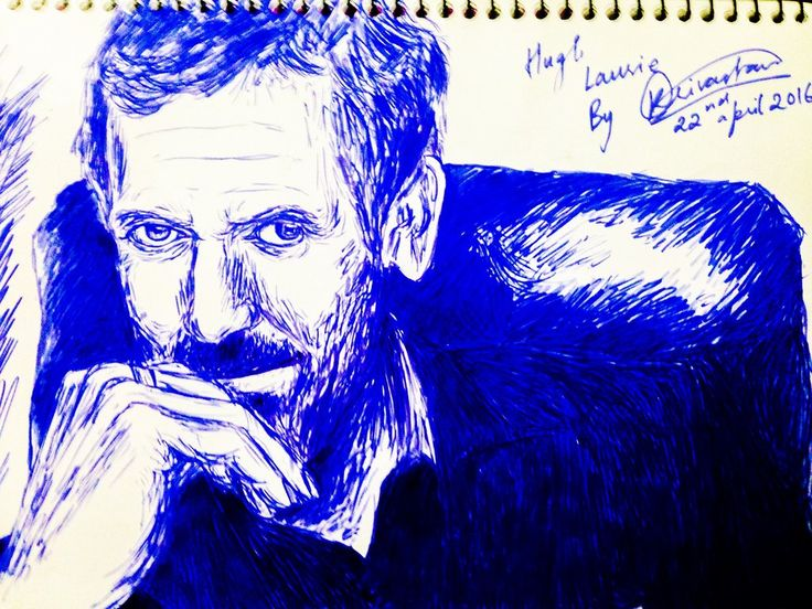 Hugh Laurie by kshitij1997