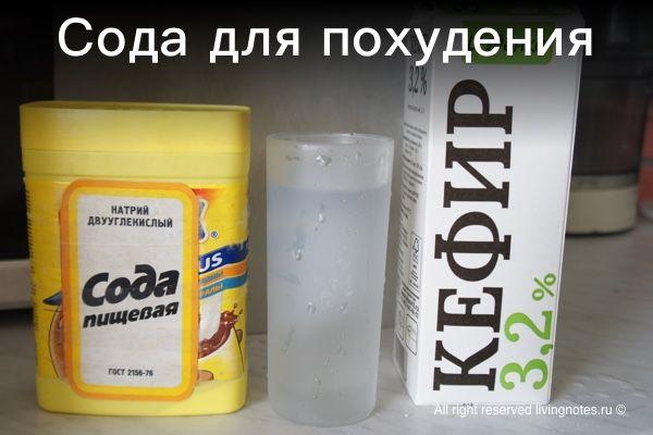 как правильно использовать соду пищевую для похудения