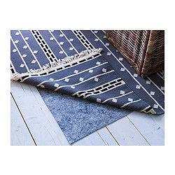 sew or glue upholstery fabric over antislip?  STOPP FILT Rug underlay with anti-slip - 2  2 x4  1  - IKEA