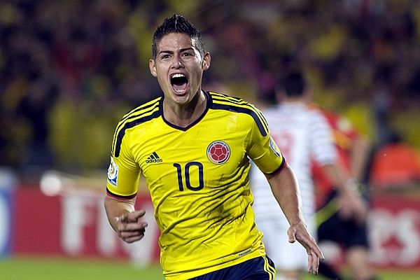 The best of Colombia! James Rodriguez!!
