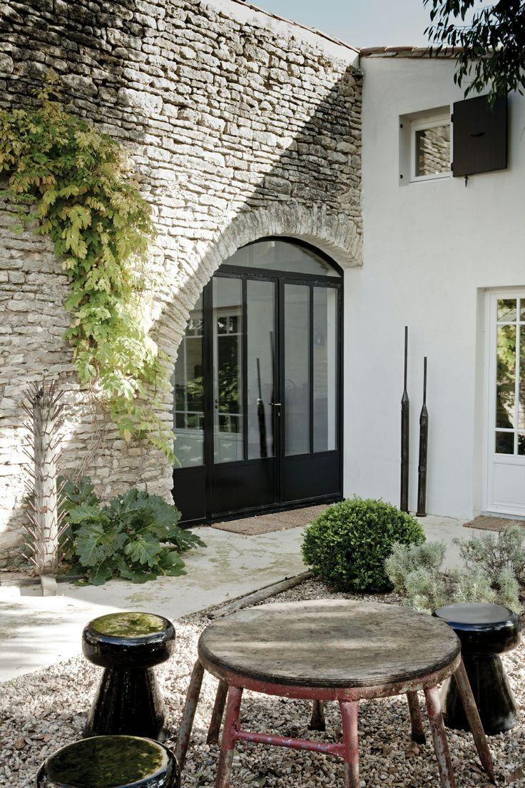 Old Stone Arch Modern Doors Windows Future Home