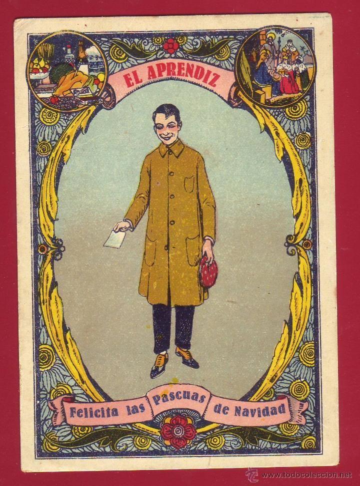 M s de 1000 ideas sobre tarjetas de cumplea os en - Postal navidad original ...