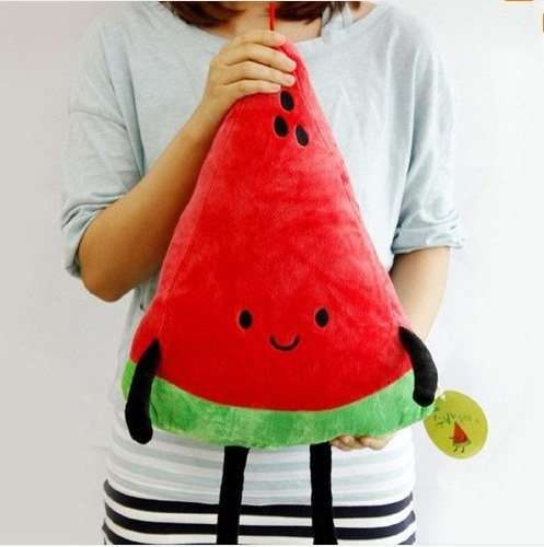 A Slice of Watermelon Plush