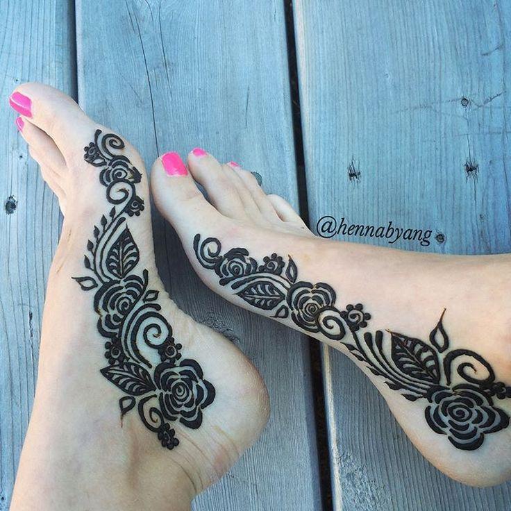 Ms De 1000 Ideas Sobre Henna Pie En Pinterest  Henna Mehndi Y Diseos De M