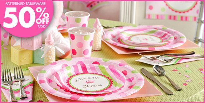 Baby Shower Decorations Canada ~ Little princess baby shower party supplies city