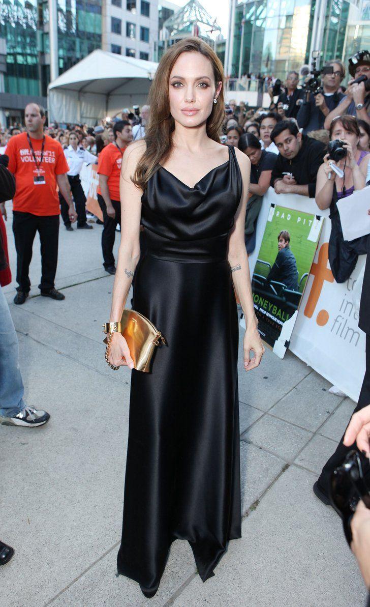 "Angelina Jolie In Vivienne Westwood – ""Moneyball"" Toronto Film Festival Premiere 2011"