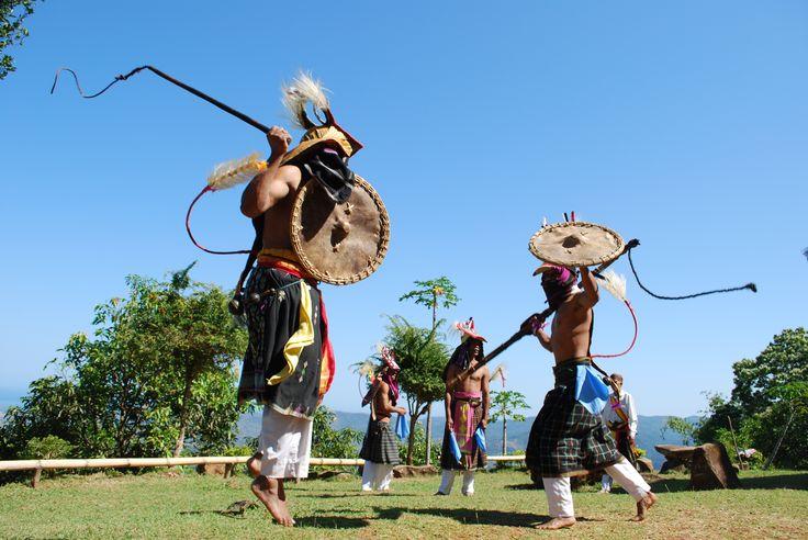 Caci Dance, Flores, Indonesia