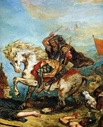 "New artwork for sale! - "" Attila The Hun by Delacroix Eugene "" - http://ift.tt/2iijGCu"