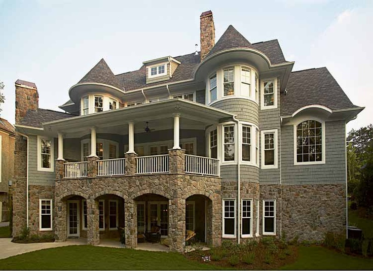 11 best rotunda entry images on pinterest house for Craftsman house plans with basement