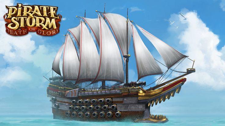 Pěkná pirátská loď