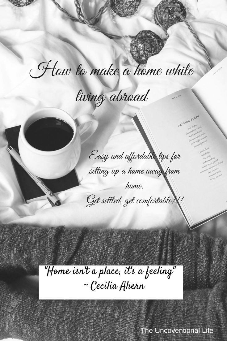 If you are living abroad and want some tips and advice about setting up your home check out this blog post!