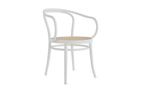 Era Round Armchair with Cane Seat