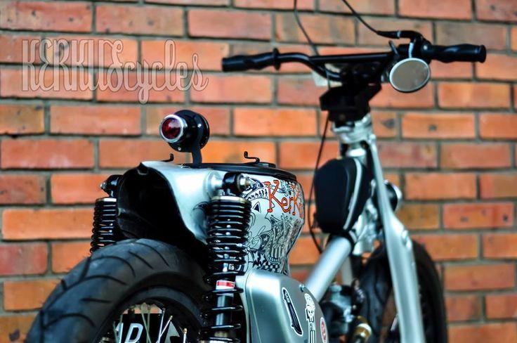 Honda C70 Street Cub | KerkuS CycleS - bike builds . accessories . lifestyles