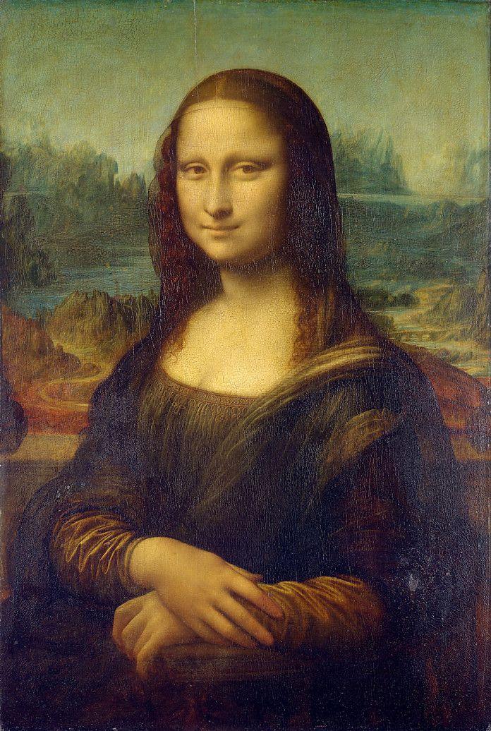 Leonardo da Vinci, Mona Lisa, ca. 1503, olieverf op paneel, 77 x 53 cm, Musée du Louvre, Parijs