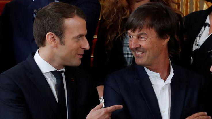 Sondage : en baisse, Emmanuel Macron moins populaire que Nicolas Hulot    a vomir