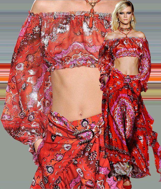 #Gonne lunghe e fantasie multicolor per lo stile #gipsy, la moda gitana per l'estate 2012.    http://www.amando.it/moda/consigli/stile-gipsy-moda-gitana.html