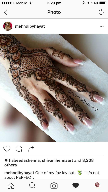 Mehndi For Hatheli : Gorgeous henna lal hatheli mehndi pattern