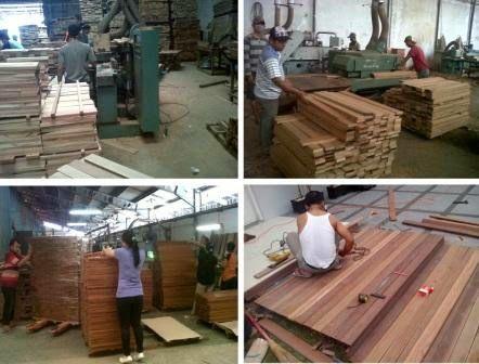 Rajawali Parket kini membuka cabang produk lantai kayu di Surabaya yang menjual dengan harga murah.