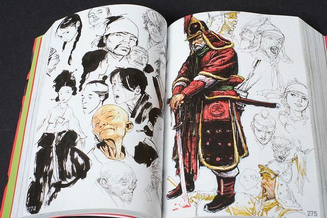 2007 Sketchbook – Kim Jung Gi US