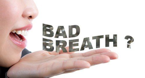 Bad breath or halitosis can be caused by a number of factors, decayed teeth, gum disease, dry mouth, smoking, sinus disease or respiratory tract, certain general diseases, inadequate oral hygiene or the use of certain drugs.