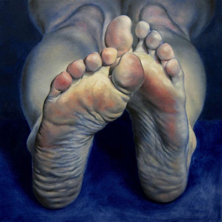 """Daniel Maidman; Oil, 2012, Painting """"Blue Leah #10"""""""