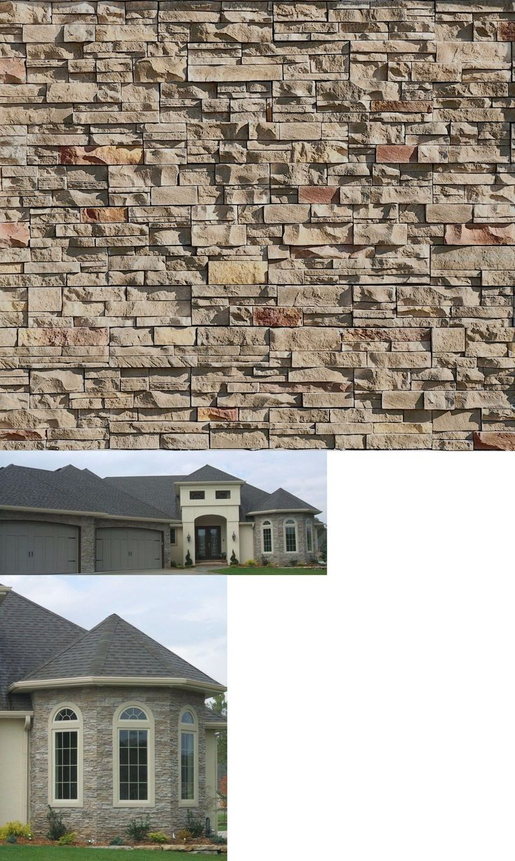 Other Flooring 20604: Thin Stone Veneer Cultured Williamsport Mosaic Ledge Stone Panels! 1 Pallet -> BUY IT NOW ONLY: $667.8 on eBay!